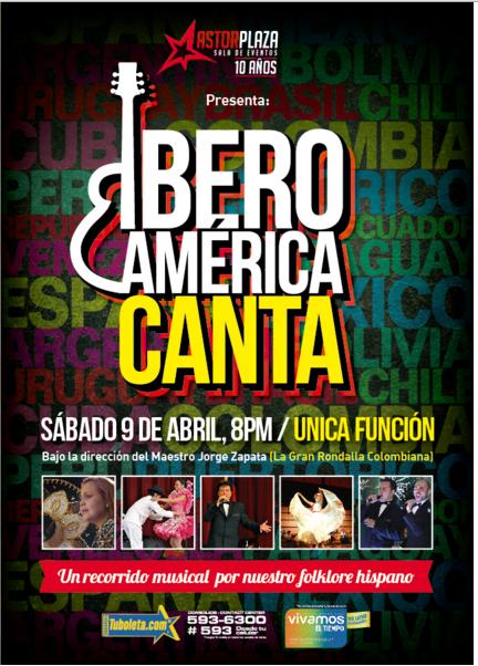 iberoamerica canta