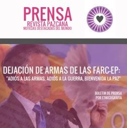 2017-06-28-dejacion de armas-proceso de paz-colombia